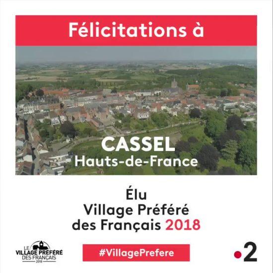 Cassel, village préféré des Français 2018 - Retrouvez les biens vendus par Volumes à Cassel !