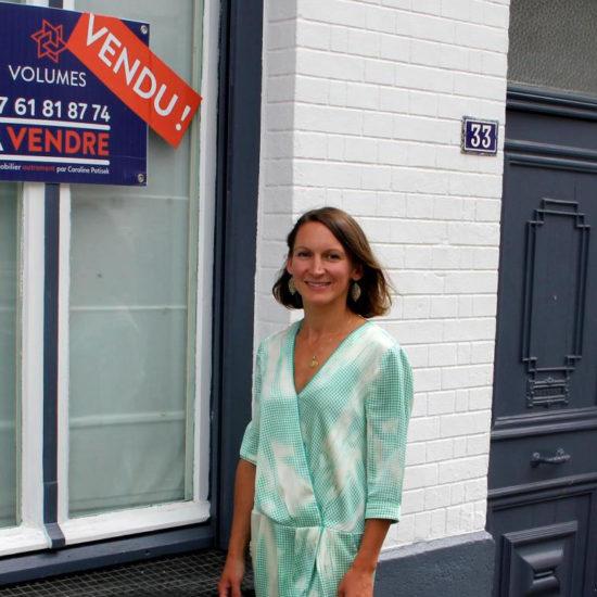 Caroline Potisek vient de créer sa propre agence immobilière, « Volumes » - Article La Voix du Nord