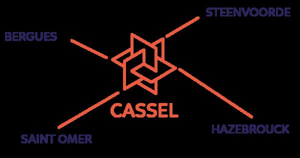 Caroline Potisek, les secteurs d'intervention de l'agence Volumes, l'immobilier autrement dans les Flandres - Cassel, Steenvoorde, Hazebrouck, Saint-Omer